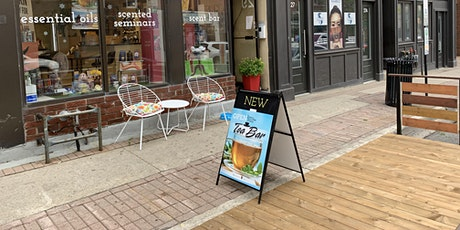 ON the PATIO.. Tea Tastings  ...only in Downtown Brampton tickets