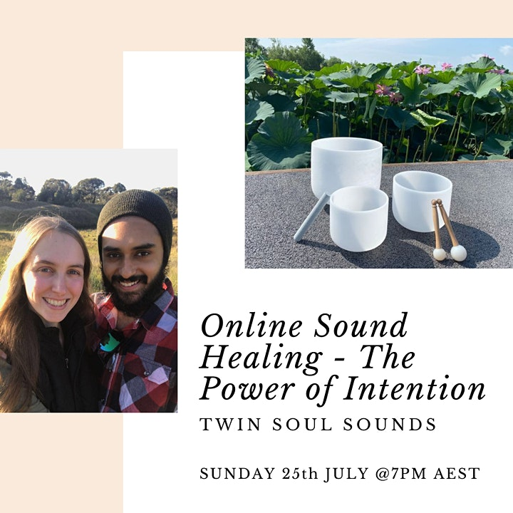 Power of Intention Sound Healing- Online image
