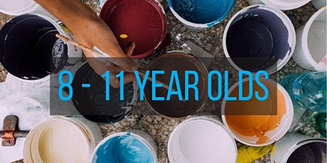 Paint and Dye Making workshop (8 - 11 year olds) tickets