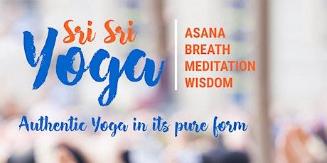 Free Beginner's Sri Sri Yoga Introduction tickets