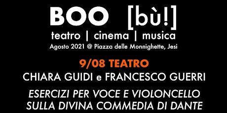 Esercizi per voce e violoncello sulla Divina commedia di Dante tickets