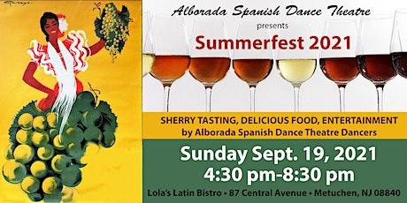"Alborada Spanish Dance Theatre presents "" Summerfest"" tickets"