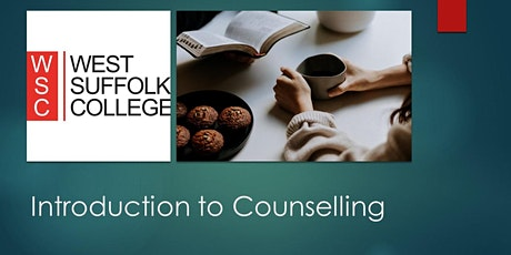Introduction to Counselling tickets
