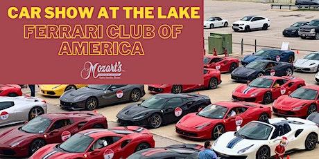 Car Show At The Lake: Ferrari Club of America tickets