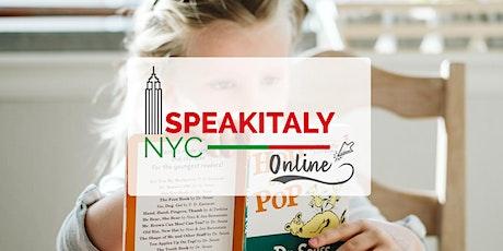 Online Italian Storytelling Class (Fall 2021) tickets