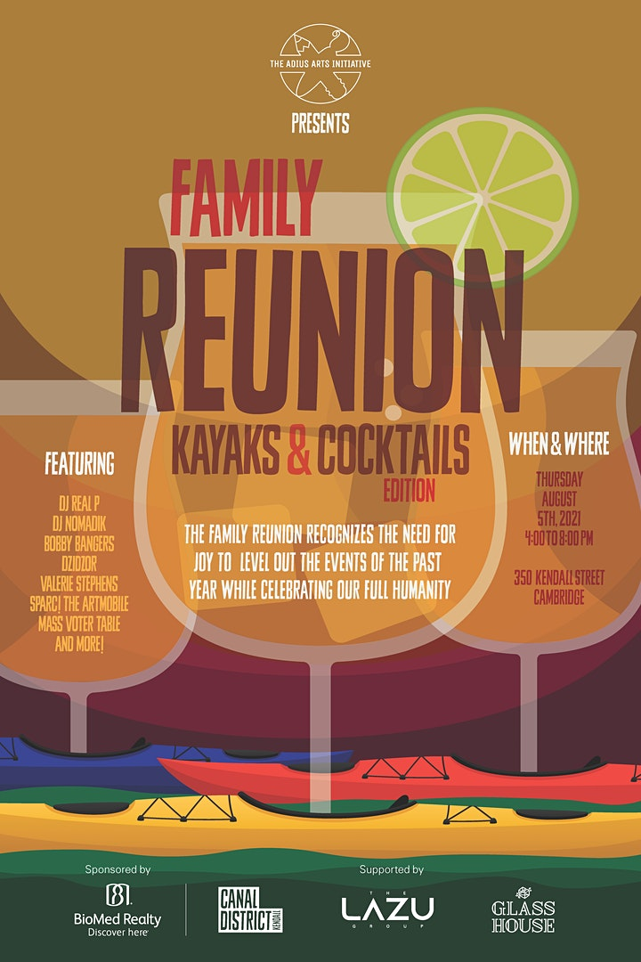 CANCELLED Family Reunion: Kayaks & Cocktails Edition image