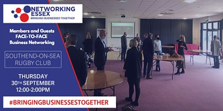 (FREE) Networking Essex Southend Thursday 30th September 12pm-2pm tickets