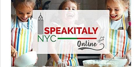 Online Italian Cooking Class (Fall 2021) tickets