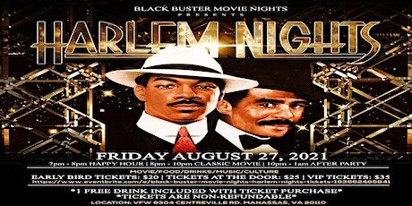 BLACK Buster Movie Nights: Harlem Nights tickets