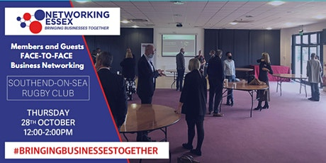 (FREE) Networking Essex Southend Thursday 28th October 12pm-2pm tickets
