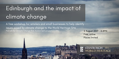 Edinburgh and the impact of climate change: a free workshop tickets