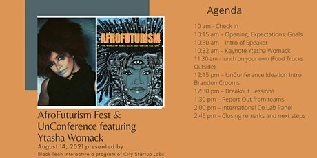 The Inaugural Afrofuturism (un)Conference tickets