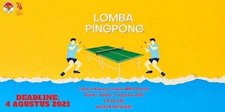 Lomba Pingpong HUT RI ke-76 tickets
