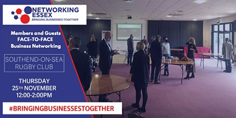 (FREE) Networking Essex Southend Thursday 25th November 12pm-2pm tickets