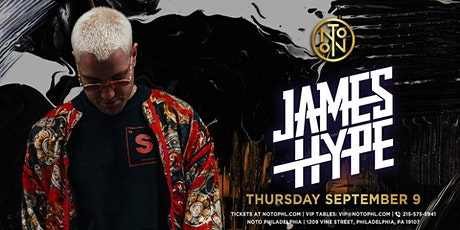 James Hype @ NOTO Philadelphia tickets