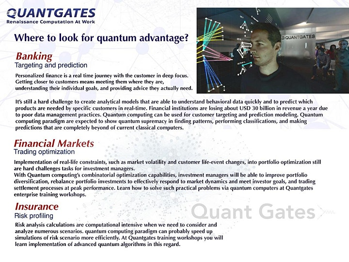 Quantum computing for banking, financial markets, and insurance image