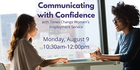 Communicating with Confidence for Women tickets