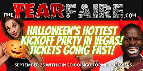 The Fear Faire - Halloween's Kickoff Party & Music Festival tickets