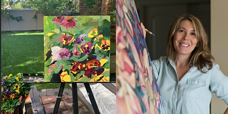 WORKSHOP: PAINTING FLOWERS & LIGHT tickets