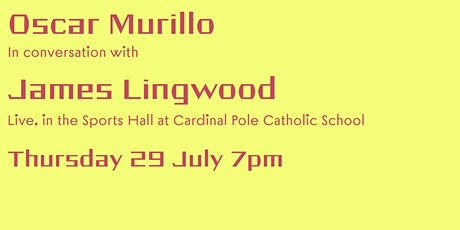 Oscar Murillo in conversation with James Lingwood tickets