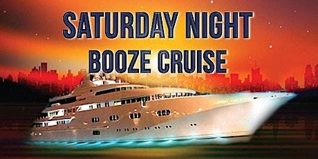 NYC SATURDAY NIGHT BOOOZE CRUISE tickets