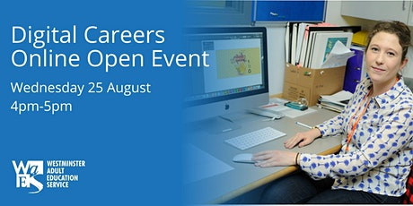 WAES  Online Open Event-  Digital Skills and Careers tickets