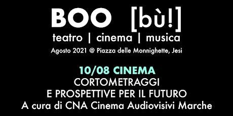 Cna Cinema audiovisivi Marche: cortometraggi e prospettive per il futuro tickets