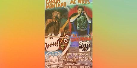 Carlos Montano & MC Wicks tickets