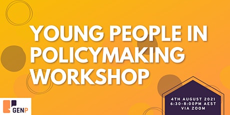 Young People in Policymaking Workshop tickets