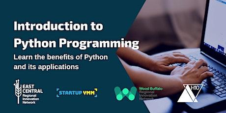 Introduction Python Programming tickets
