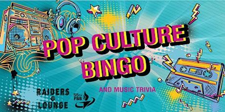 Offutt Pop Culture Bingo tickets