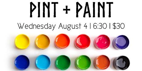 Pint & Paint Night tickets