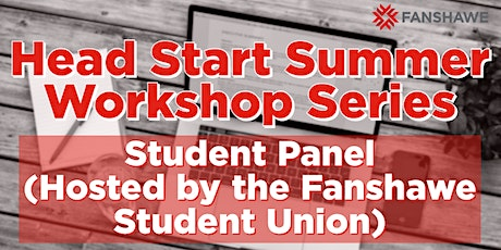 Head Start Summer Workshop Series: Student Panel (Hosted by the FSU) tickets