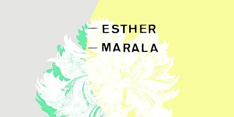 Esther + Marala entradas