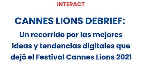 CANNES LIONS DEBRIEF tickets