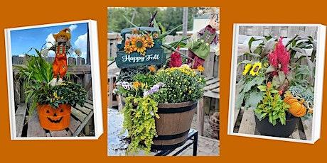 Fall Porch Pots tickets