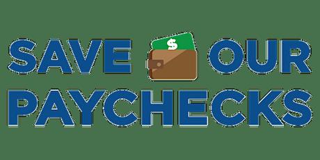 Save Our Paychecks - Milwaukee, WI tickets