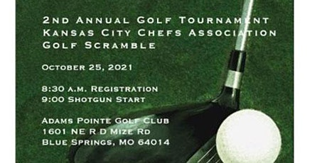 2nd Annual ACF Greater Kansas City Chefs Charity Golf Tournament tickets