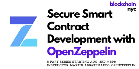 Secure Smart Contract Development with OpenZeppelin tickets