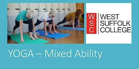 Yoga - Mixed Ability tickets