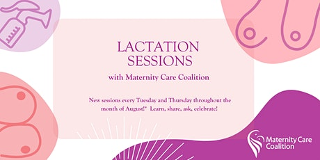 FREE: Lactation Sessions with Maternity Care Coalition tickets