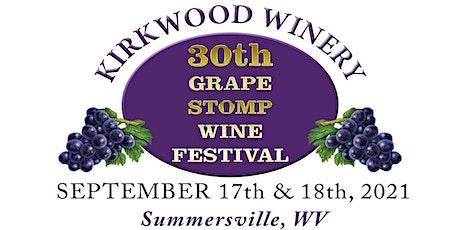 30th Grape Stomp Wine Festival tickets