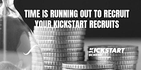 Time is running out! - Kickstart scheme is ending tickets