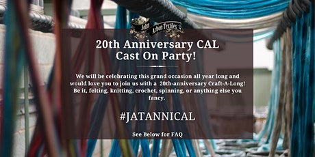 20th Anniversary CAL - Cast On Party tickets