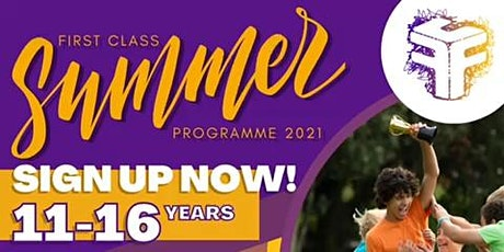 First Class Summer Programme tickets
