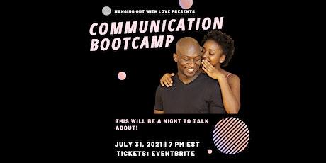 Communication Bootcamp tickets