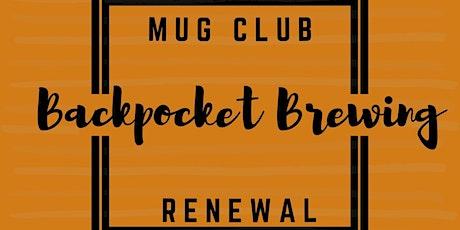 2021-2022 Mug Club Renewal tickets