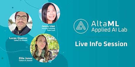 Applied AI Lab Q&A Webinar - with Alumni and ML Team Leads! tickets