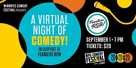 a virtual night  of comedy in support of Fearless R2W tickets