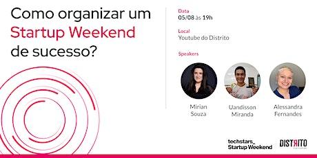 Techstars - Como Organizar um Startup Weekend de Sucesso tickets